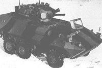 轮式通用装甲车