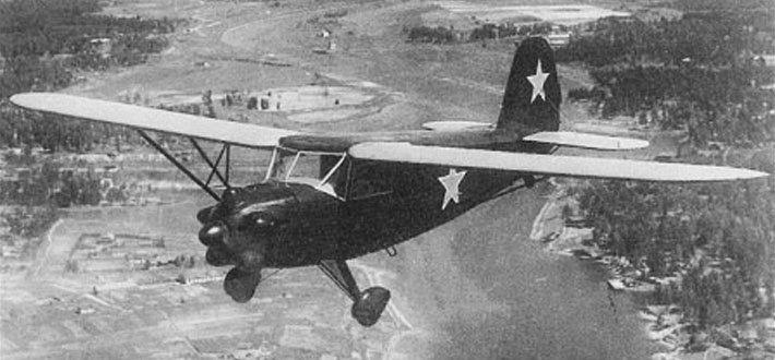 10是苏联雅科夫列夫设计局在20世纪40年代联络员设计和内置的轻型飞机