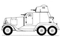LB-23/BA-21装甲车