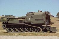 M55式203毫米自行榴弹炮