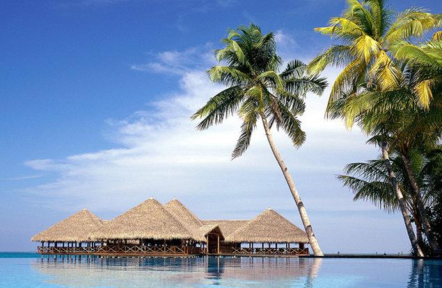 【特价】马尔代夫6日4晚呼噜马累岛欢乐岛双岛游自由行 上海直飞