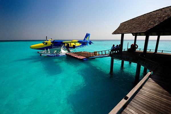 【特价】马尔代夫7日5晚自由行太阳岛4晚沙滩别墅入住