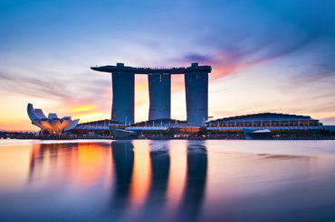 狮头鱼尾像和新加坡